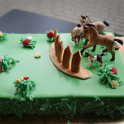 Tort z końmi Wega